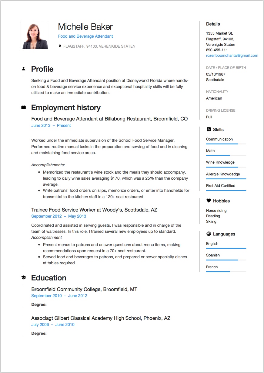 Free Resume Examples by Industry amp Job Title  LiveCareer
