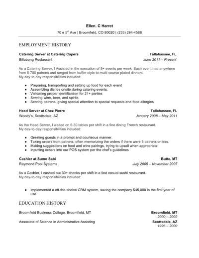 Word Resume Server
