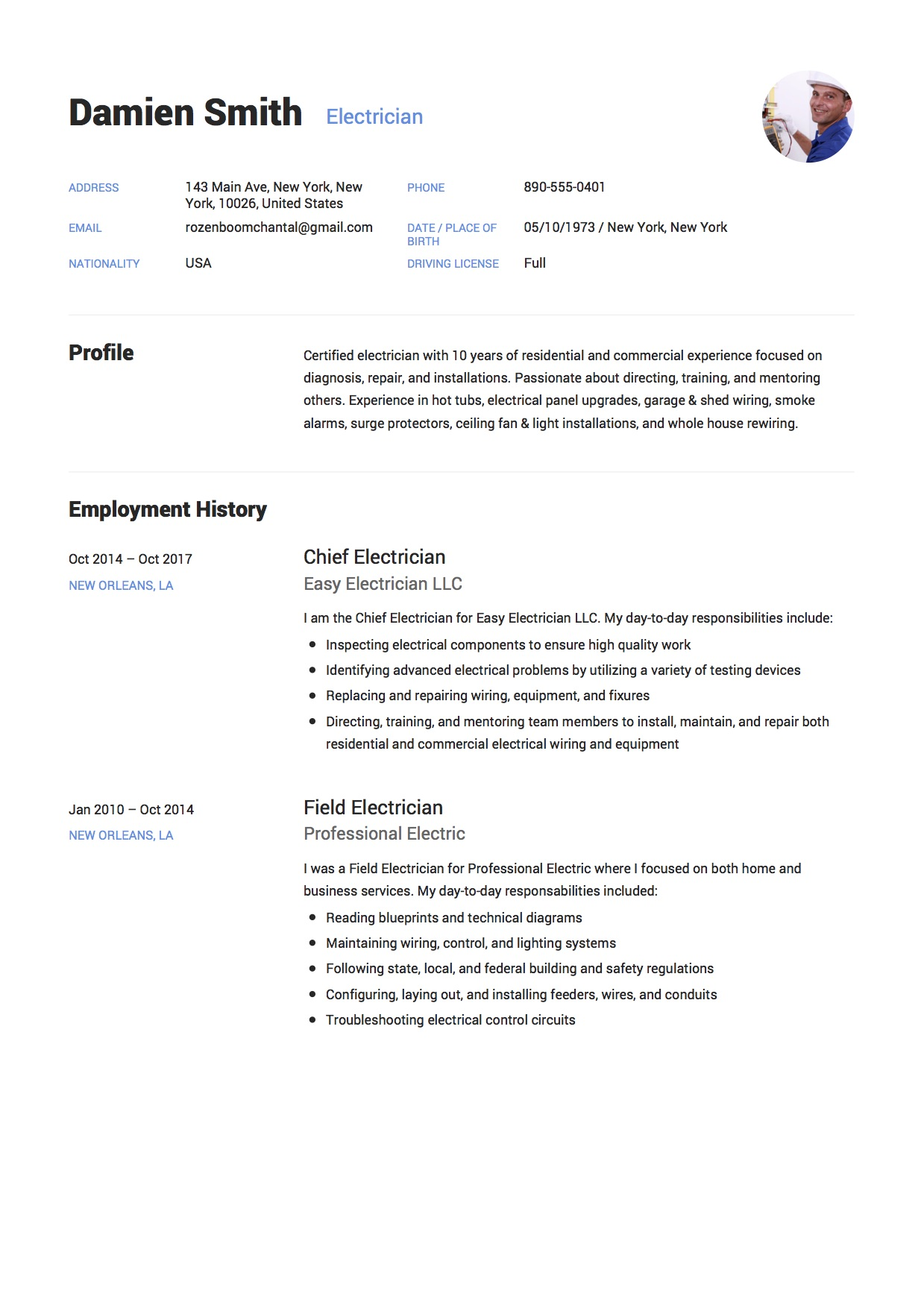 resume cv example nice sample cv resume free career resume template