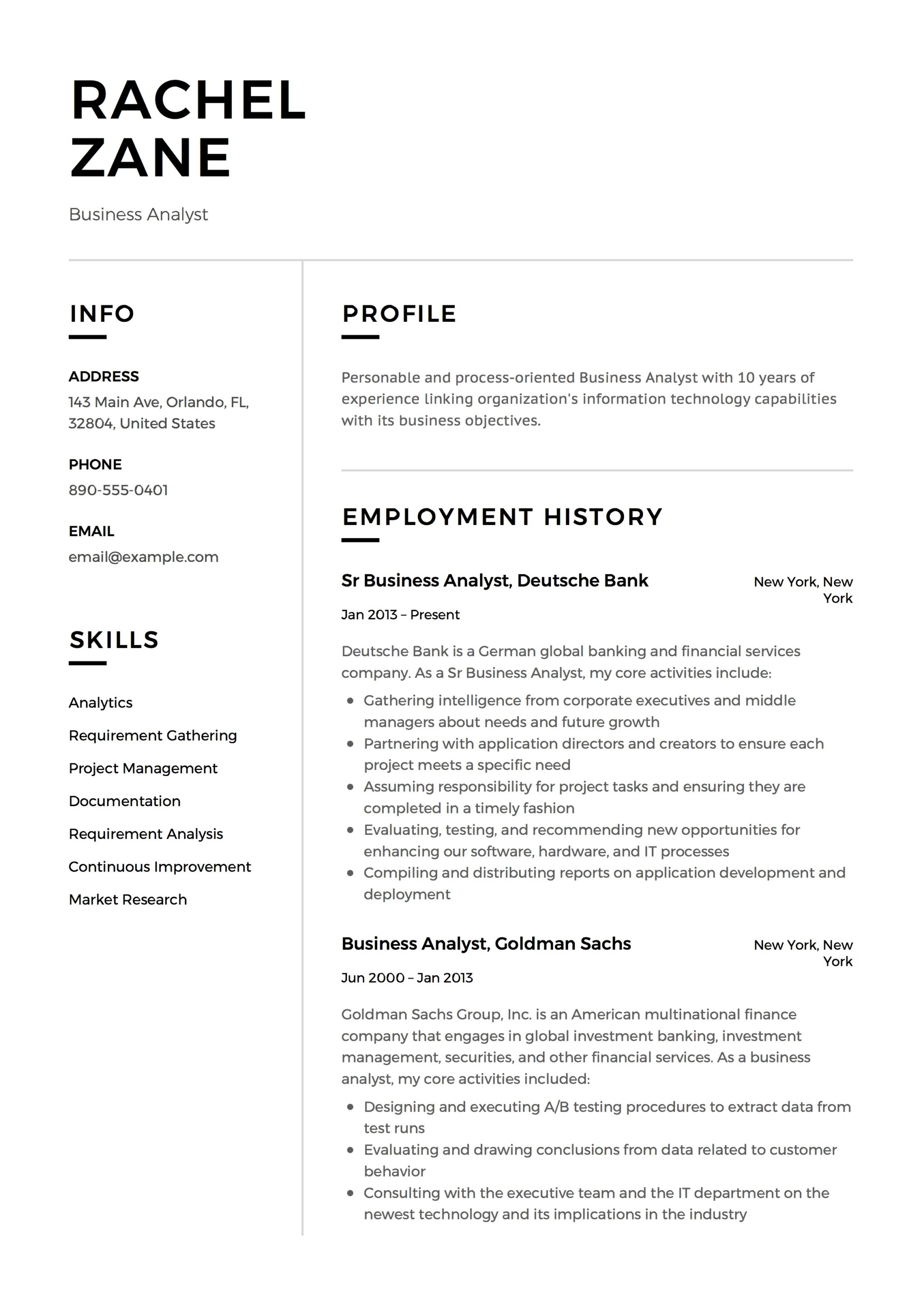 Full Guide: Project Manager Resume [+12] Samples || Word & PDF | 2019