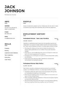Resume - Professional Painter-12