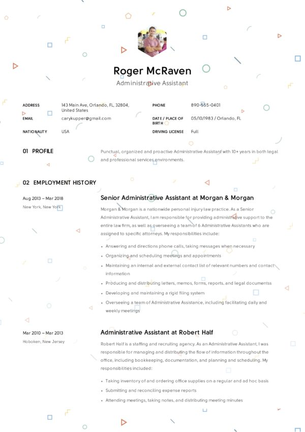 12 administrative assistant resume samples