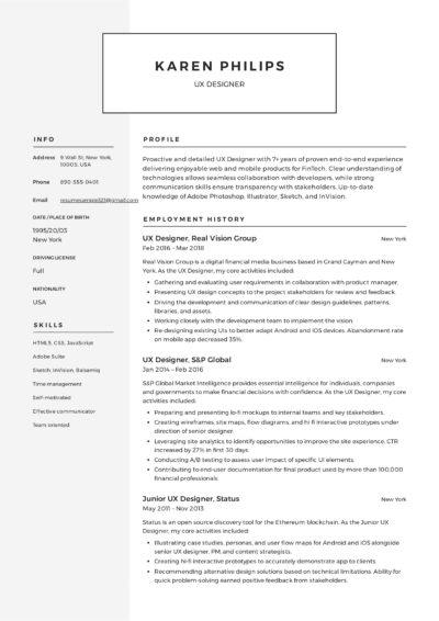 UX Designer Resume Sample - Karen Philips (4)