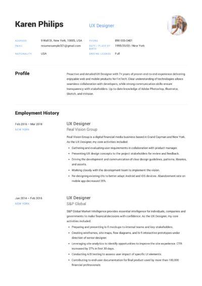 UX Designer Resume Sample - Karen Philips (9)