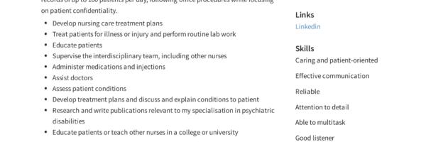 Registered Nurse Resume Sample & Writing Guide | +12 Samples ...