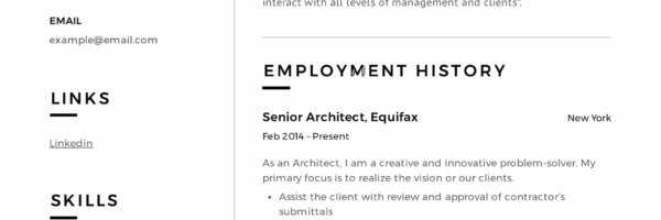 Architect Resume & Writing Guide | + 12 Samples | PDF | 2019