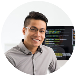 A Asian American male Software Engineer's Resume Profile Profile