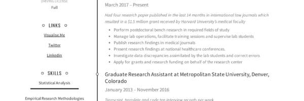 Research Assistant Resume Writing Guide 12 Resume