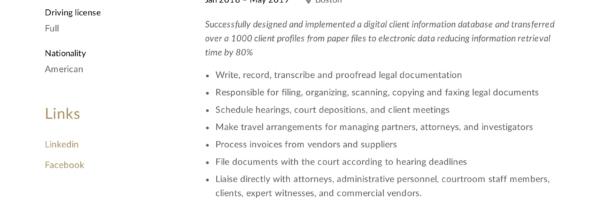 Secretary Resume & Writing Guide | +12 TEMPLATE SAMPLES | PDF |