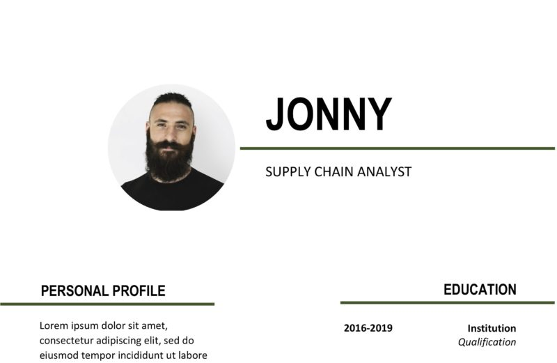 Supply chain management resume sample Word
