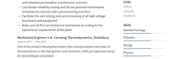 Mechanical Engineer Resume & Writing Guide | +12 Templates | PDF