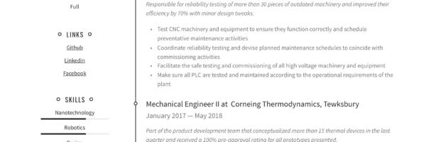 Mechanical Engineer Resume Writing Guide 12 Templates Pdf