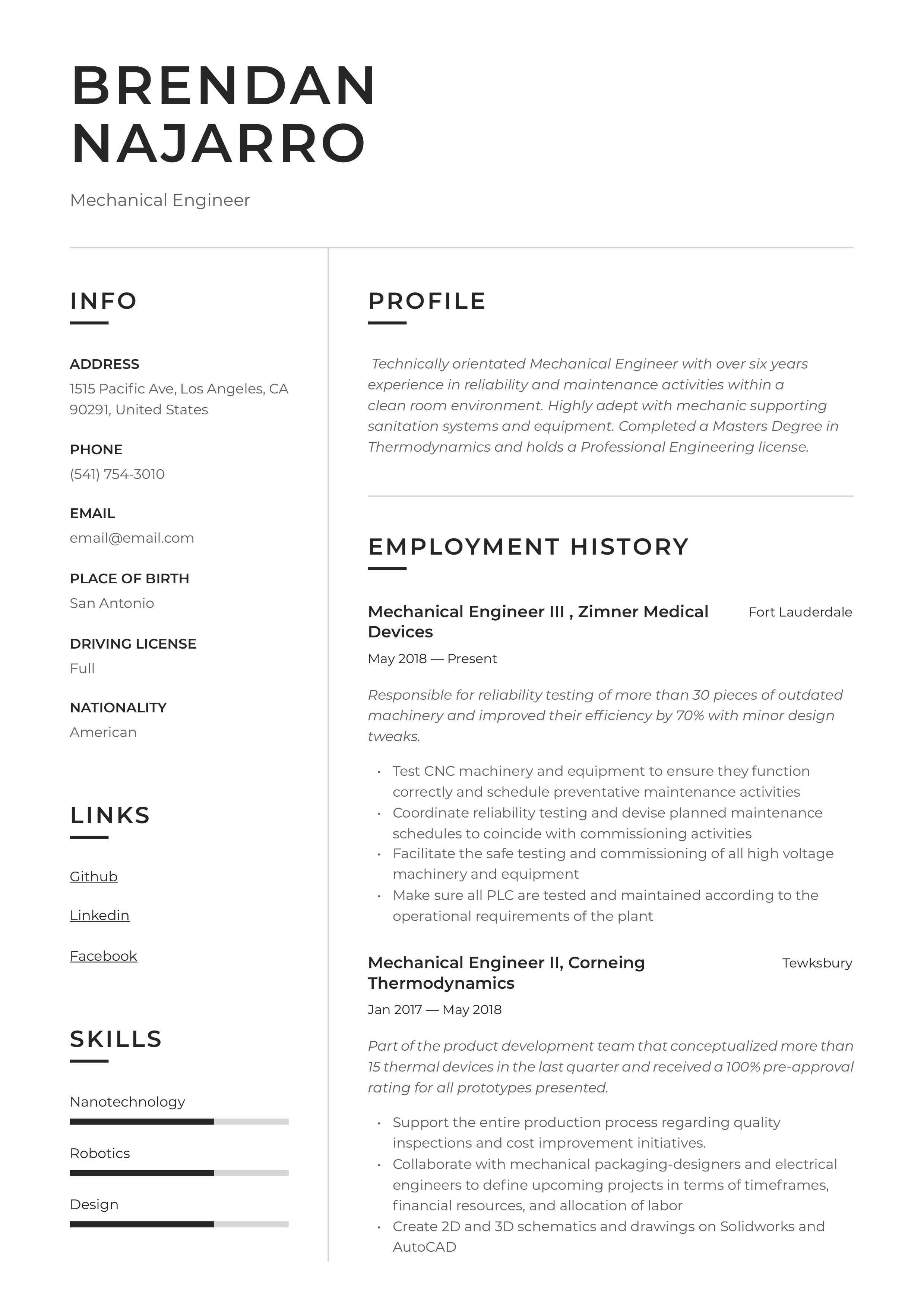 10 best resume writing service engineers