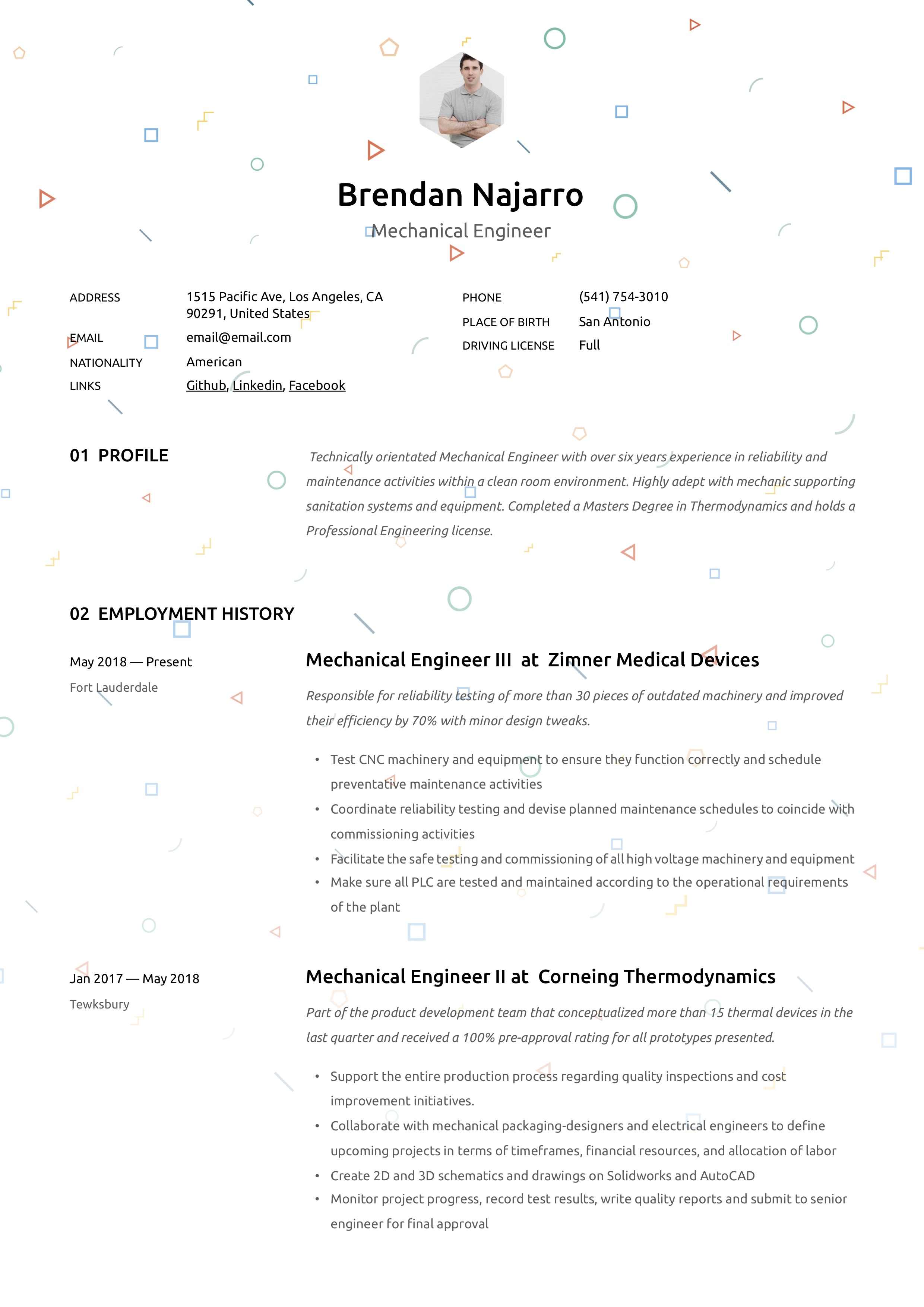 mechanical engineer resume  u0026 writing guide
