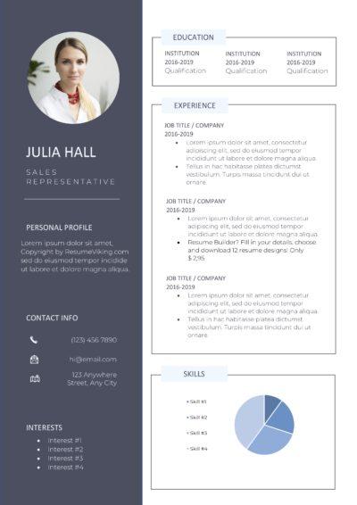 modern creative resume pdf